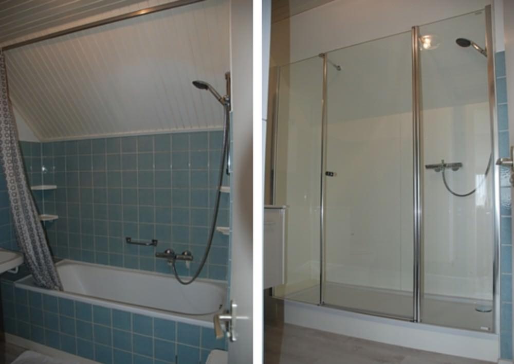 Inloopdouche Met Bad : Inloopdouche zonder dat je badkamer onder water staat tips voor