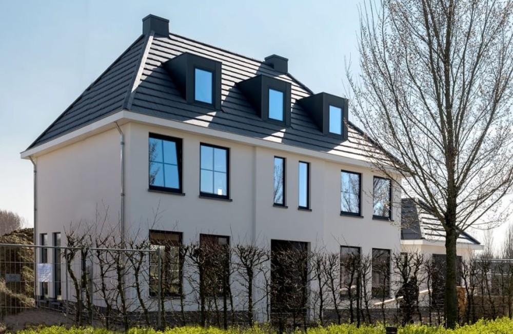 Zelf bouwen zelfbouwers boudewijn en alice voor hun for Kavel en huis droomhuis