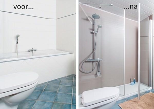 Bad eruit douche erin van gemert installatiegroep van gemert bv